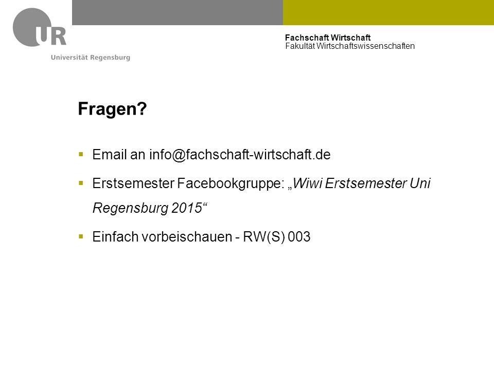Fragen Email an info@fachschaft-wirtschaft.de