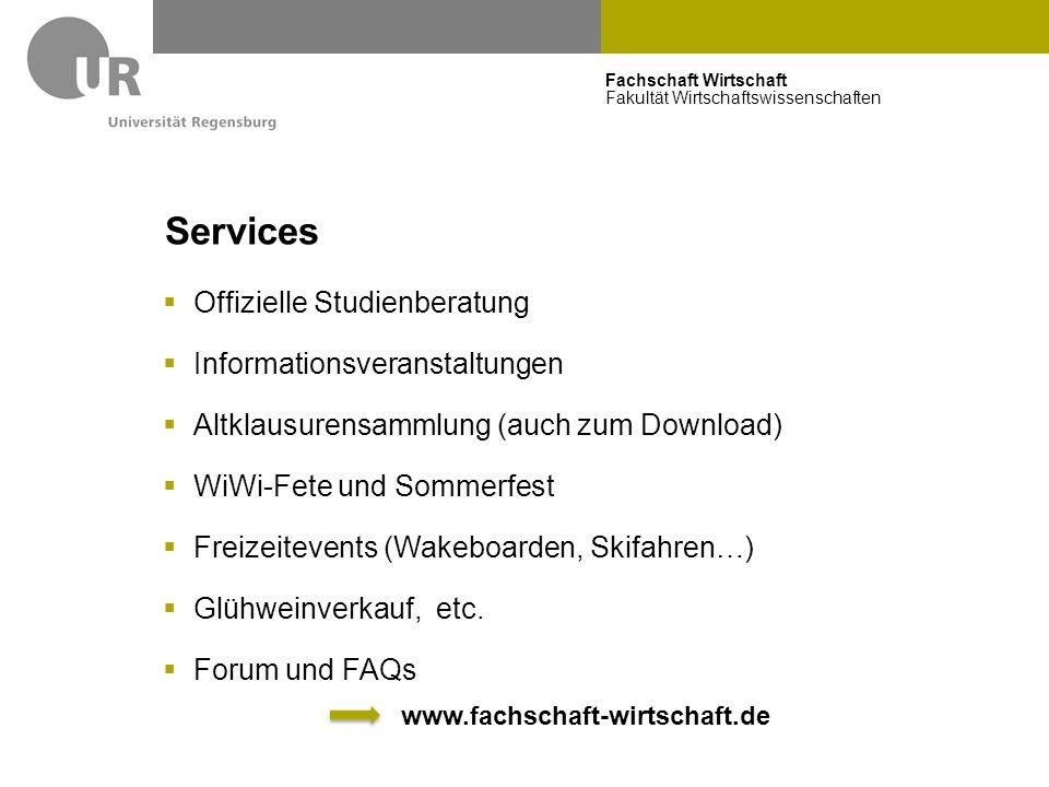 Services Offizielle Studienberatung Informationsveranstaltungen