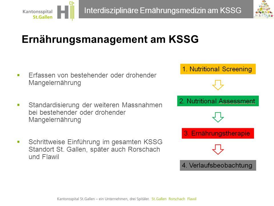 Ernährungsmanagement am KSSG