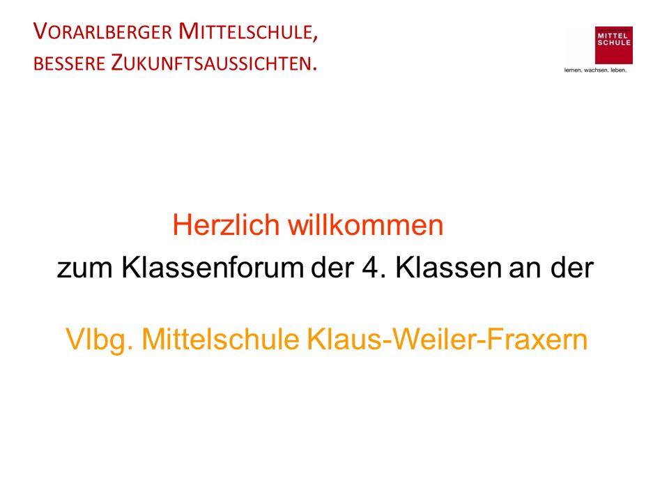 Vorarlberger Mittelschule, bessere Zukunftsaussichten.