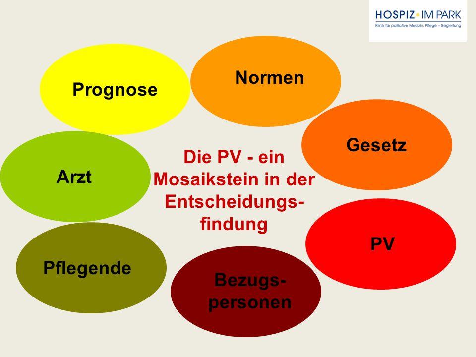 Die PV - ein Mosaikstein in der Entscheidungs-findung