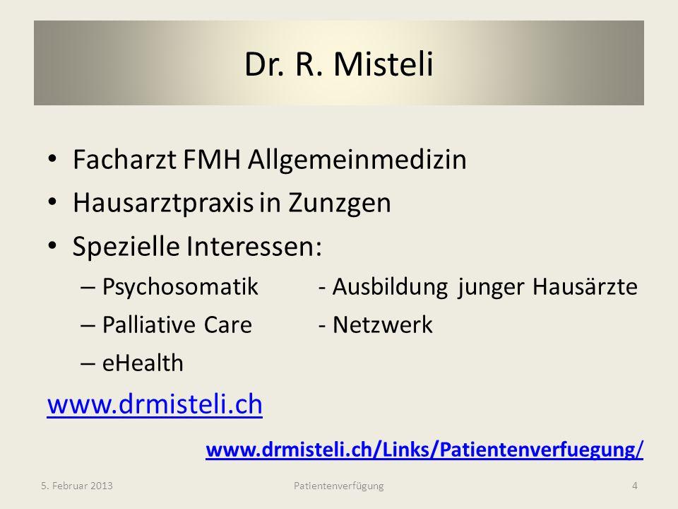 Dr. R. Misteli Facharzt FMH Allgemeinmedizin Hausarztpraxis in Zunzgen