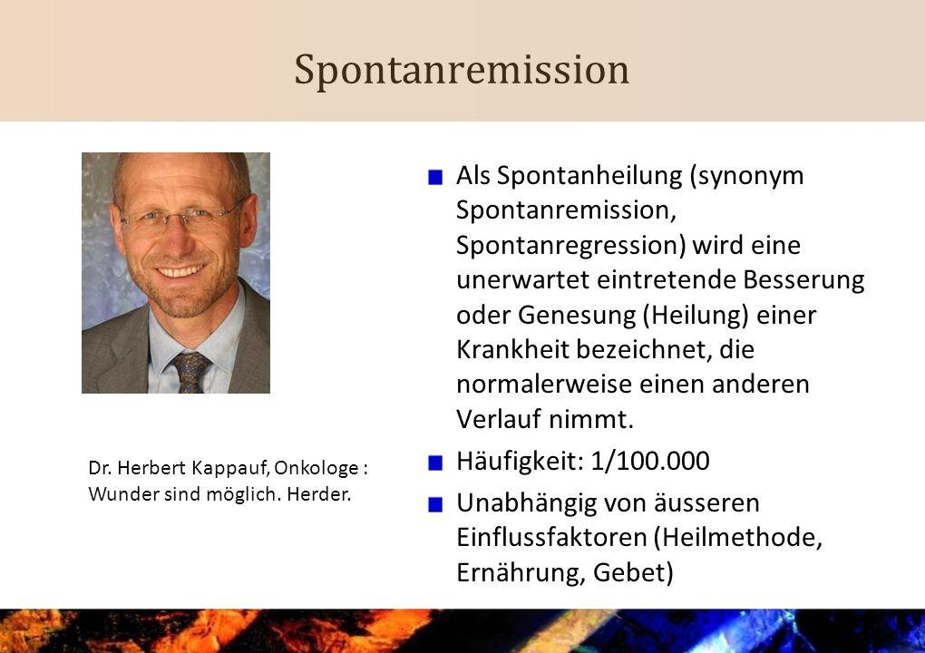 Spontanremission