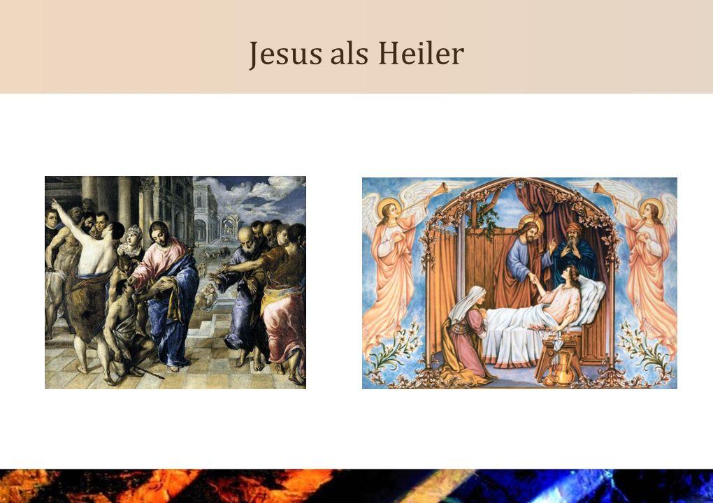 Jesus als Heiler