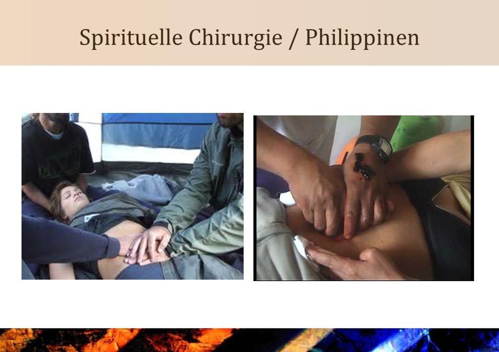 Spirituelle Chirurgie / Philippinen