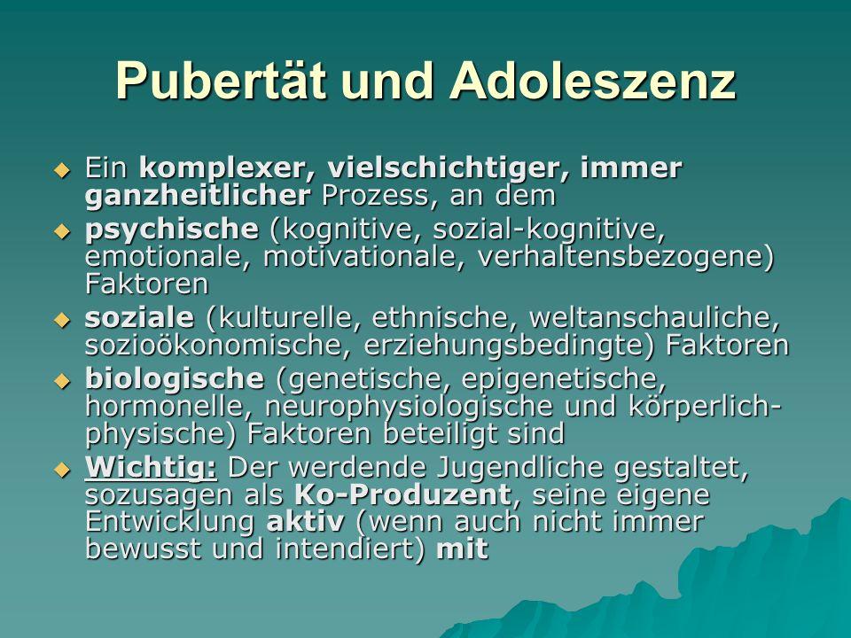 Pubertät und Adoleszenz