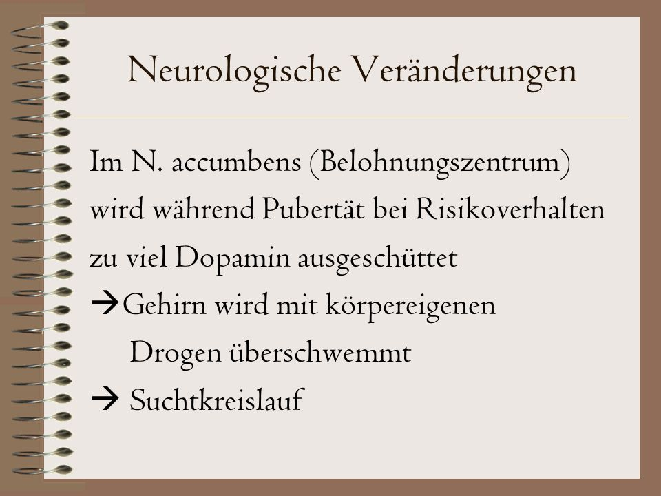Neurologische Veränderungen