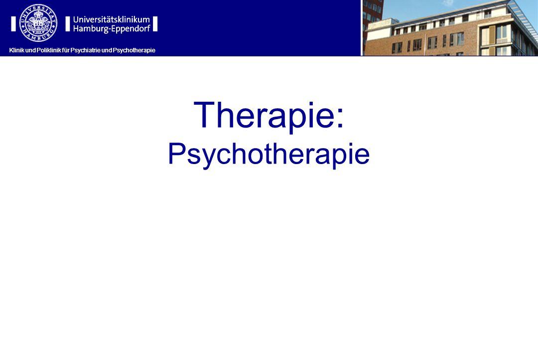Therapie: Psychotherapie
