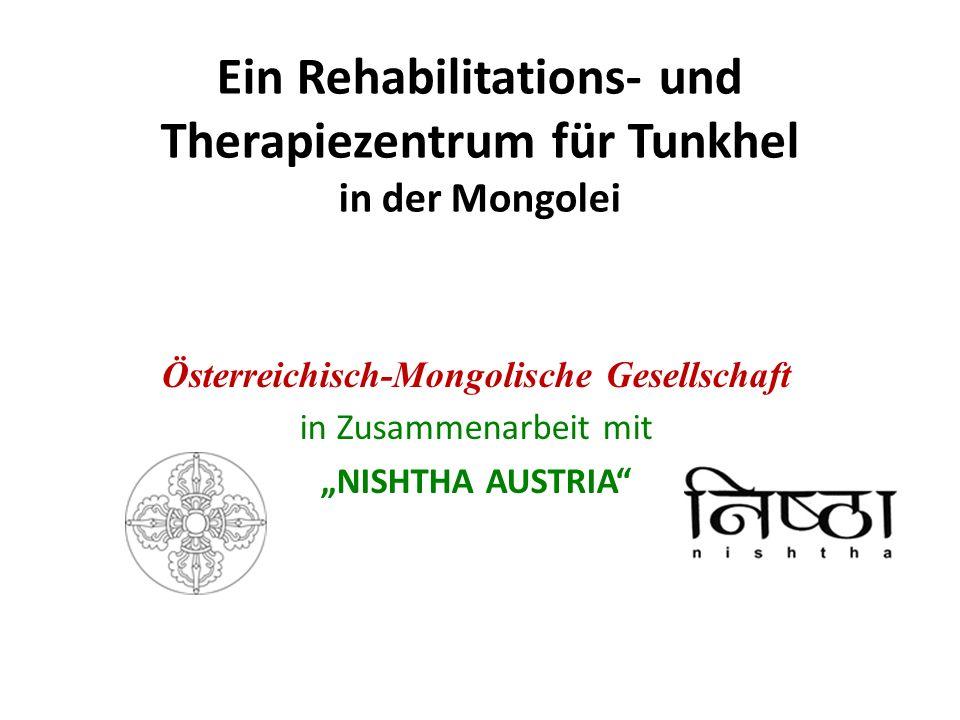 Ein Rehabilitations- und Therapiezentrum für Tunkhel in der Mongolei