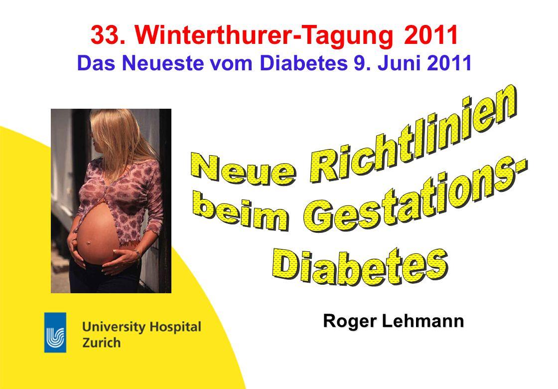 Das Neueste vom Diabetes 9. Juni 2011
