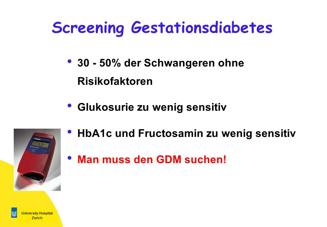 Screening Gestationsdiabetes