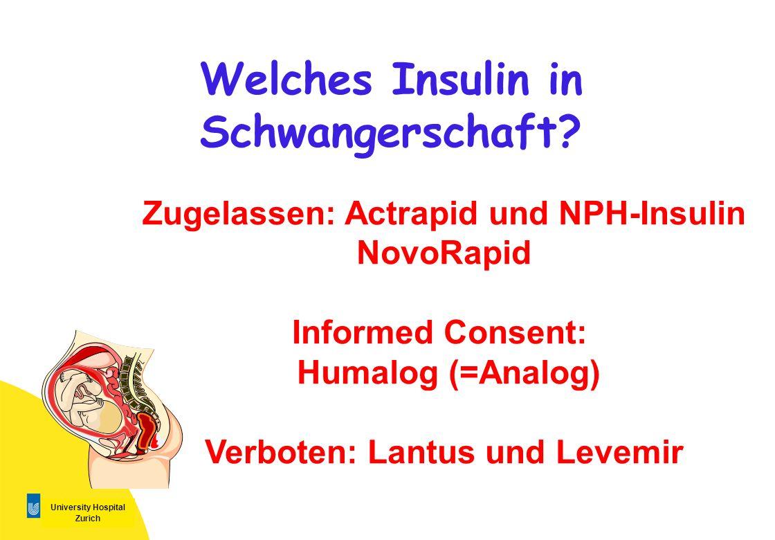Welches Insulin in Schwangerschaft