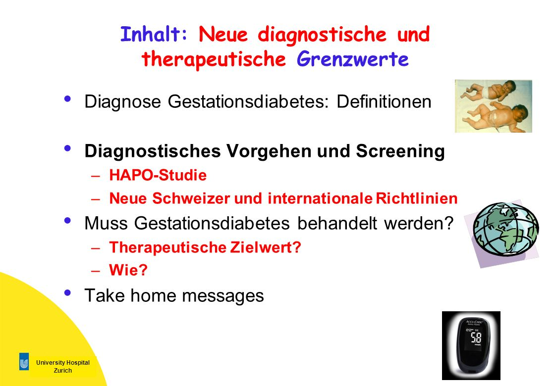 Inhalt: Neue diagnostische und therapeutische Grenzwerte