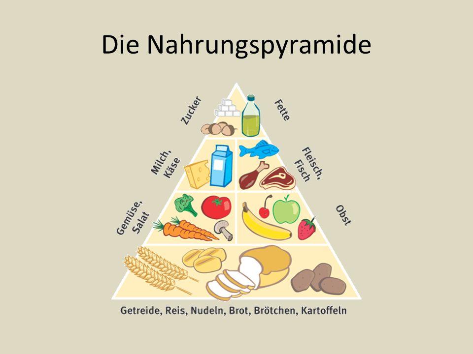 Die Nahrungspyramide