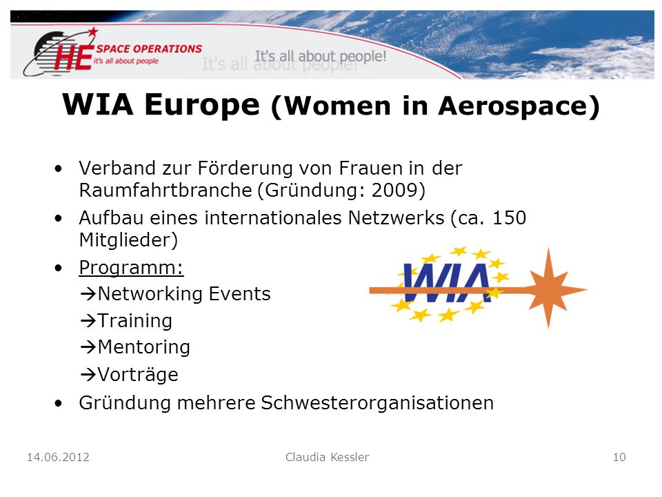 WIA Europe (Women in Aerospace)
