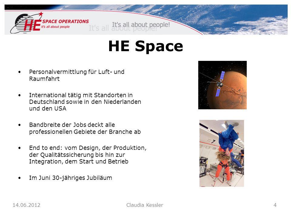 HE Space Personalvermittlung für Luft- und Raumfahrt