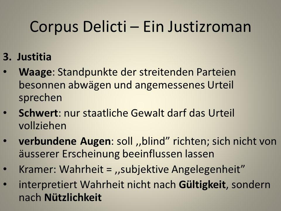 Corpus Delicti – Ein Justizroman