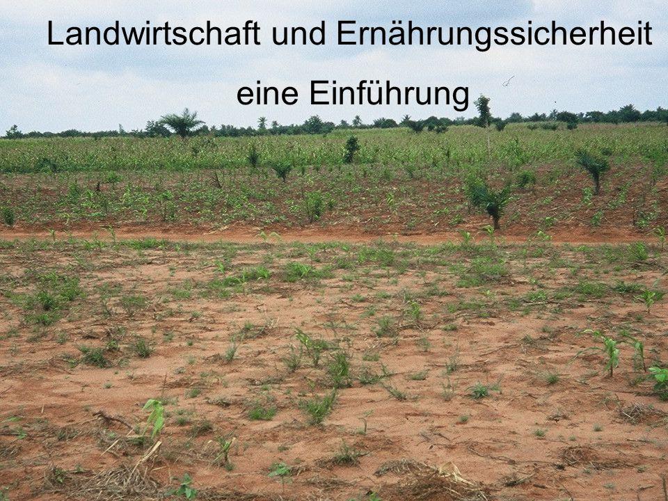 Landwirtschaft und Ernährungssicherheit