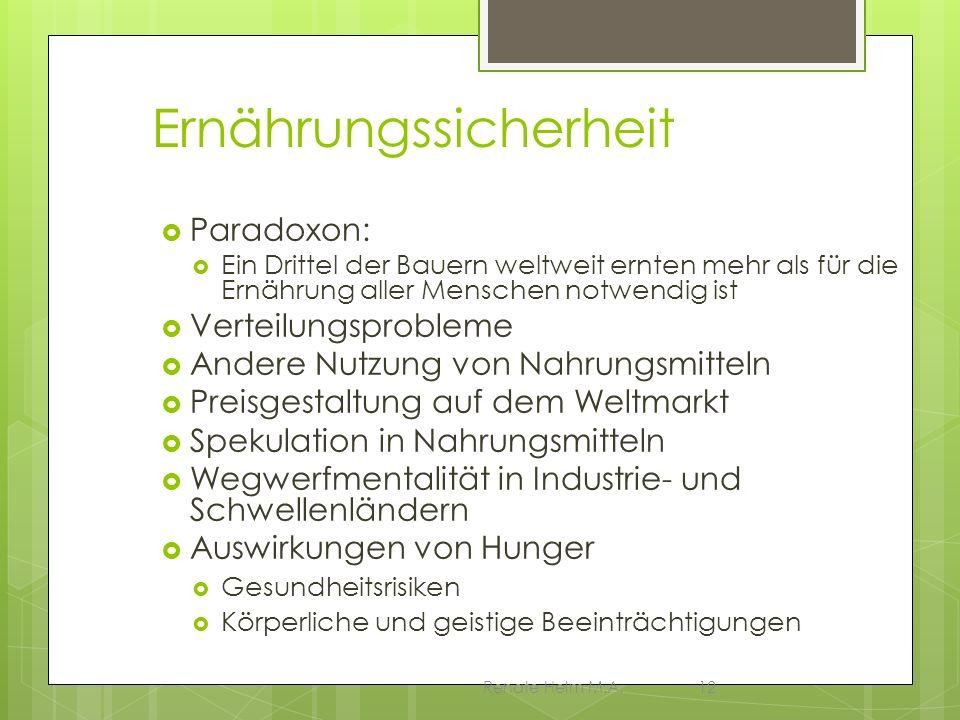 Ernährungssicherheit