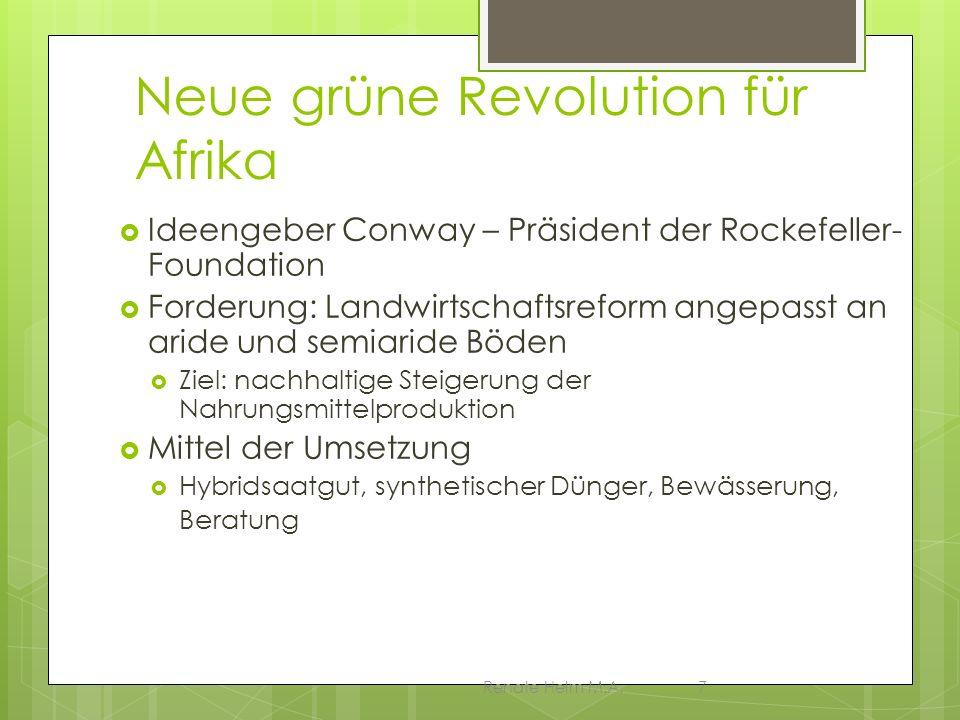 Neue grüne Revolution für Afrika