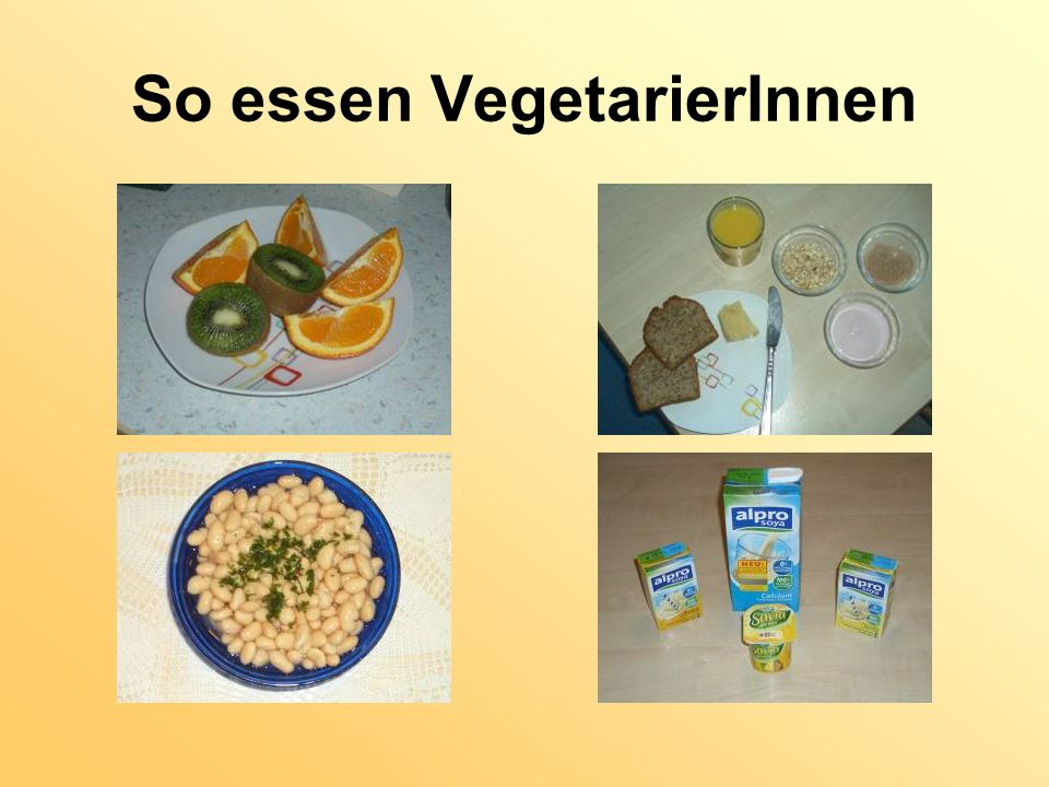 So essen VegetarierInnen