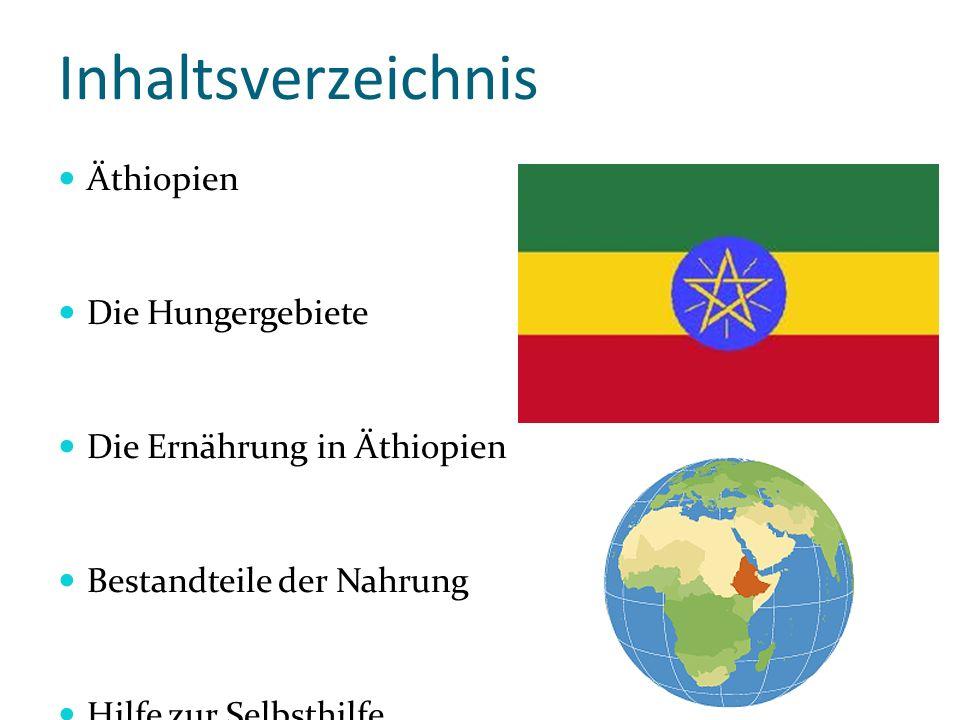 Inhaltsverzeichnis Äthiopien Die Hungergebiete
