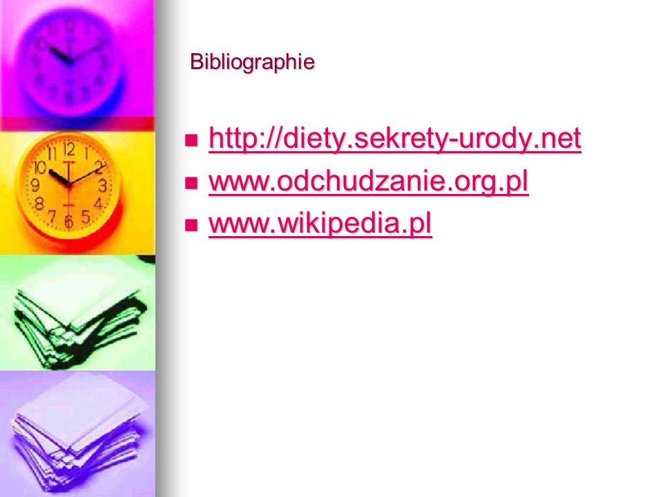 http://diety.sekrety-urody.net www.odchudzanie.org.pl www.wikipedia.pl