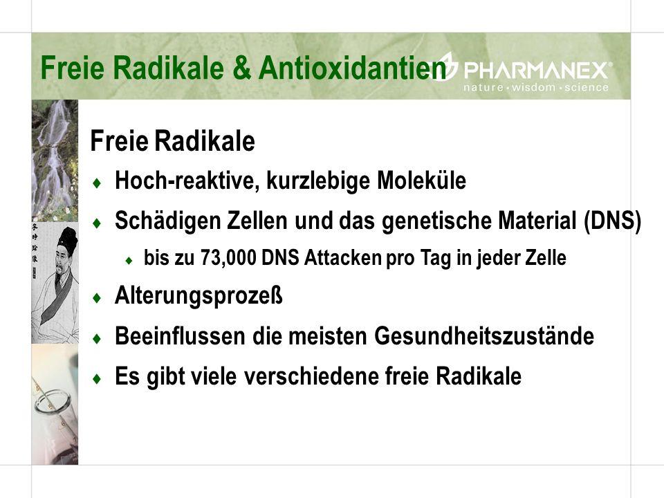 Freie Radikale & Antioxidantien