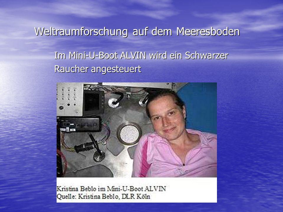 Weltraumforschung auf dem Meeresboden