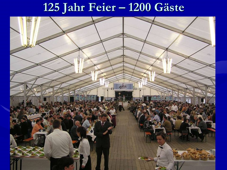 125 Jahr Feier – 1200 Gäste