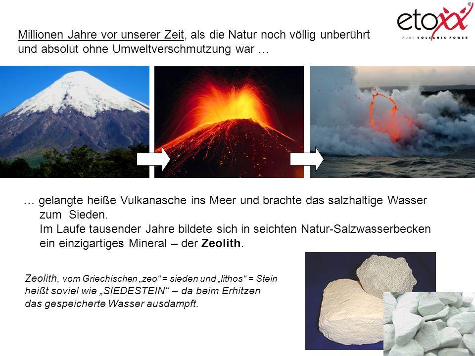 ein einzigartiges Mineral – der Zeolith.
