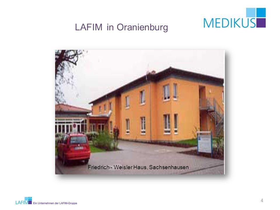 LAFIM in Oranienburg Friedrich - Weisler Haus, Sachsenhausen