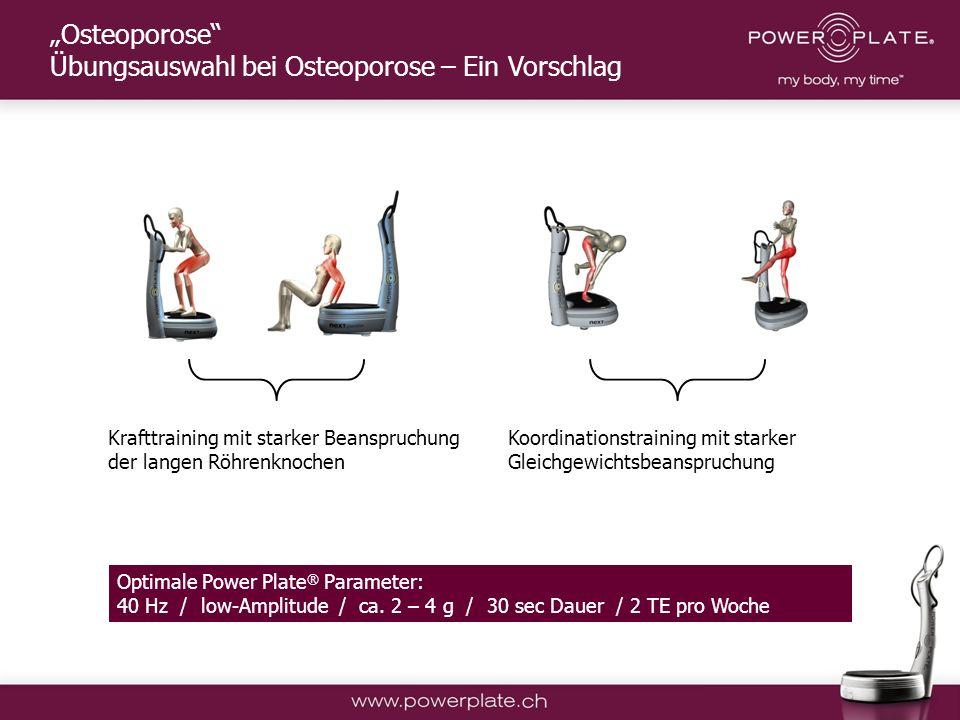 """""""Osteoporose Übungsauswahl bei Osteoporose – Ein Vorschlag"""