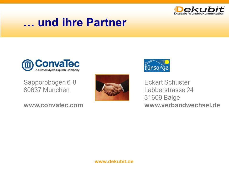 … und ihre Partner Sapporobogen 6-8 Eckart Schuster 80637 München