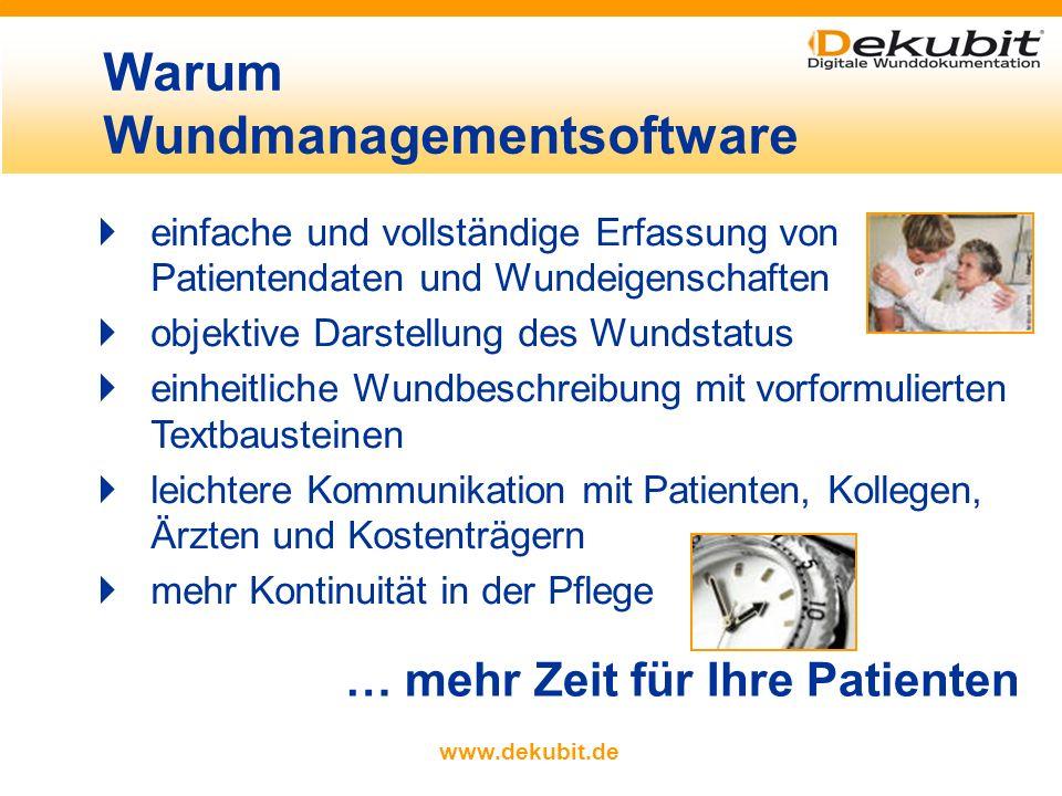 Warum Wundmanagementsoftware