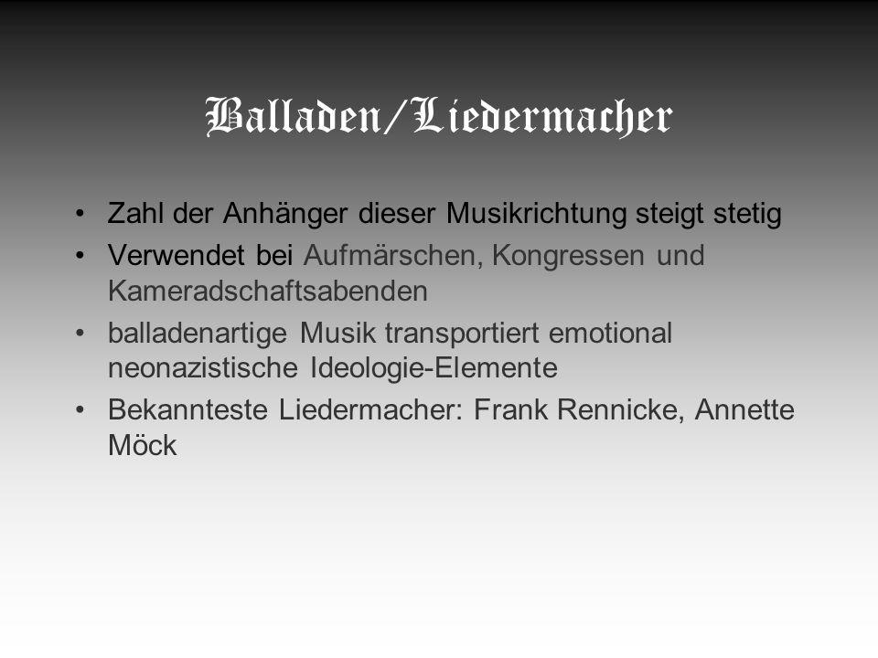 Balladen/Liedermacher