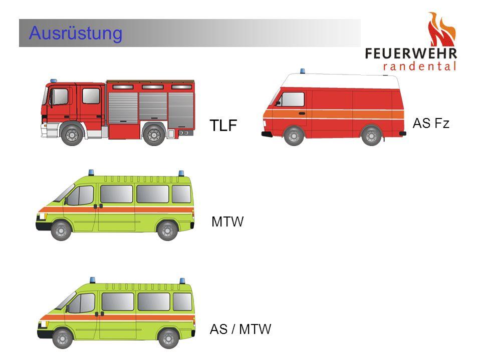 Ausrüstung TLF AS Fz MTW AS / MTW Wer ist die Feuerwehr Schleitheim