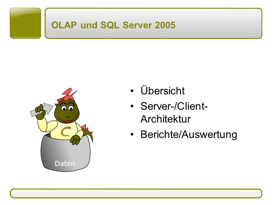 Server-/Client-Architektur Berichte/Auswertung