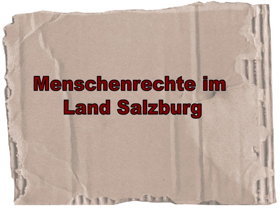 Menschenrechte im Land Salzburg