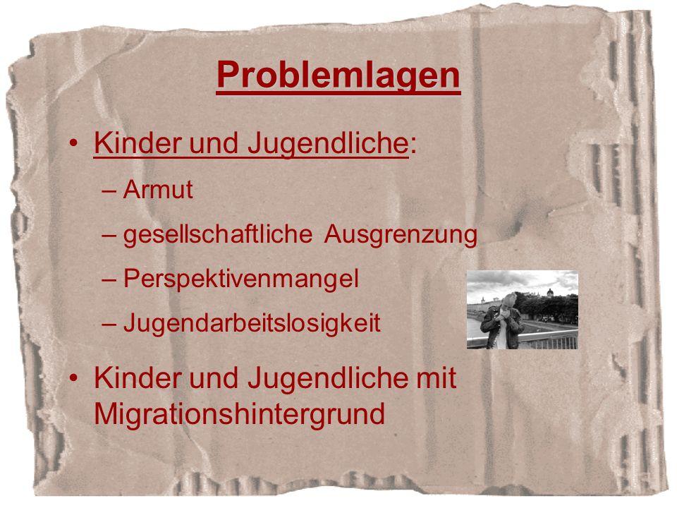 Problemlagen Kinder und Jugendliche: