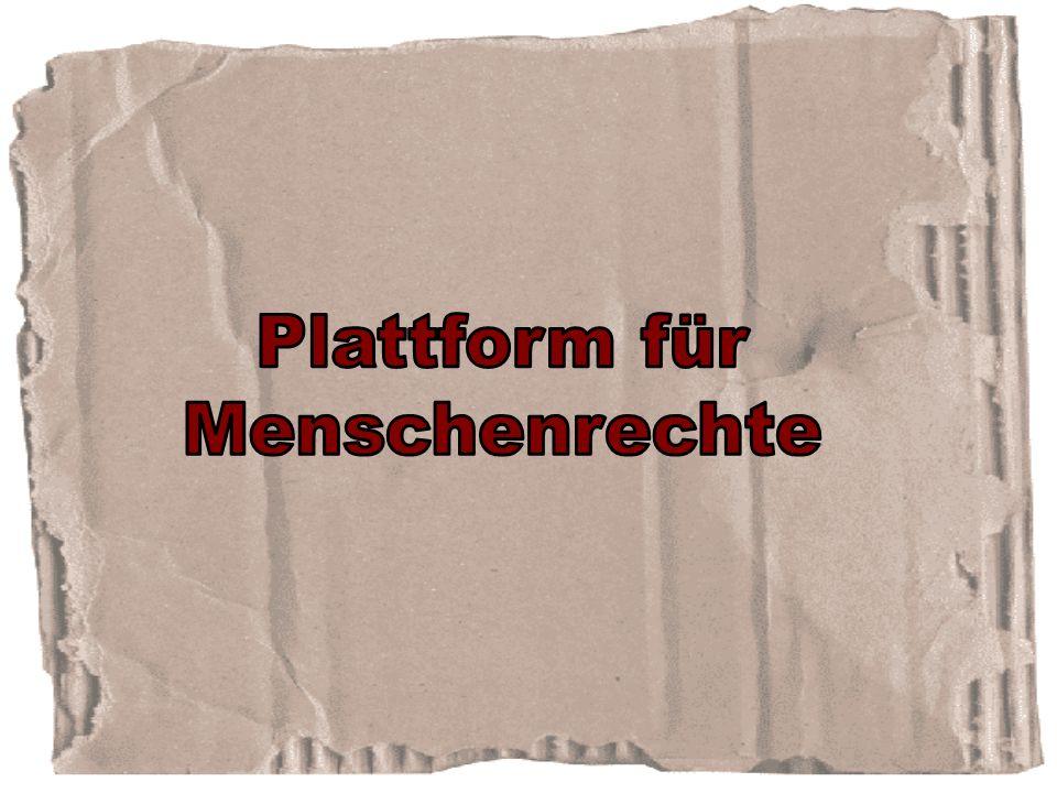 Plattform für Menschenrechte