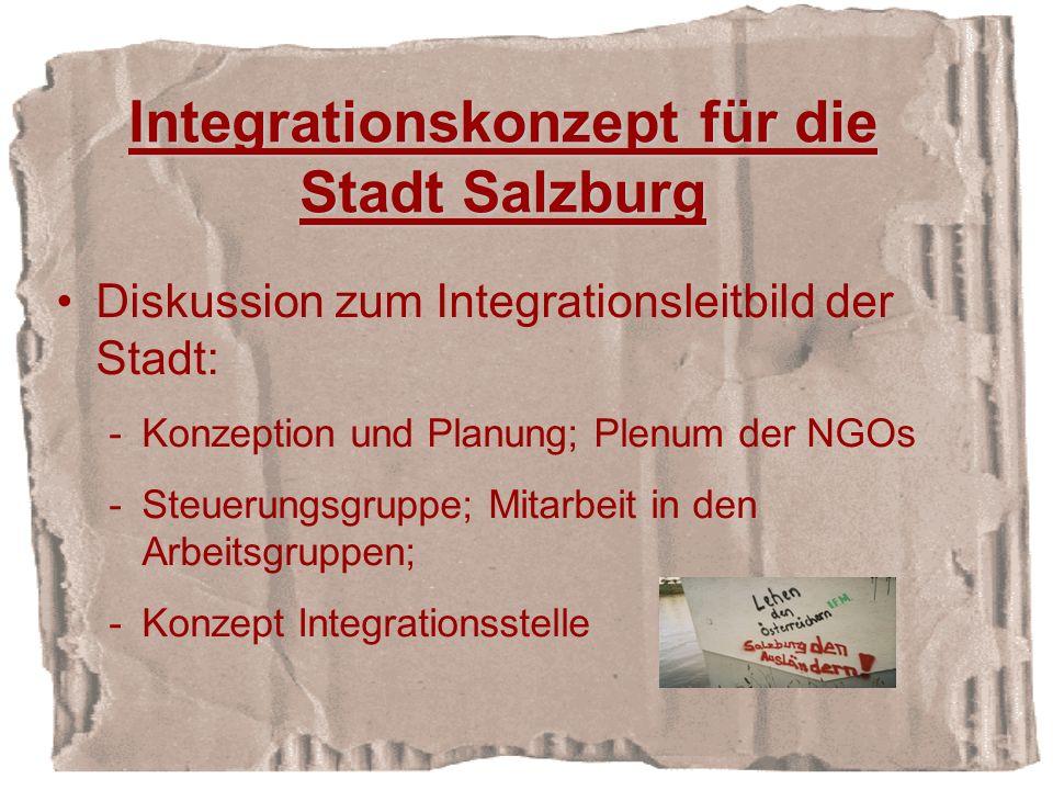 Integrationskonzept für die Stadt Salzburg