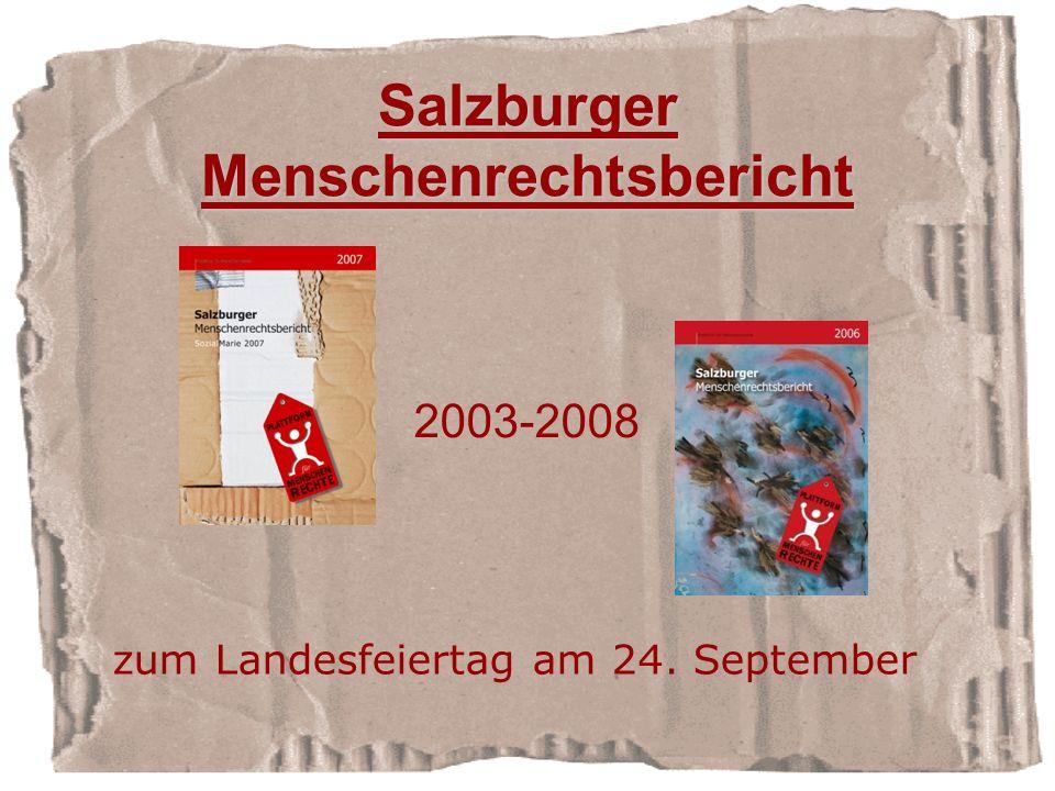 Salzburger Menschenrechtsbericht