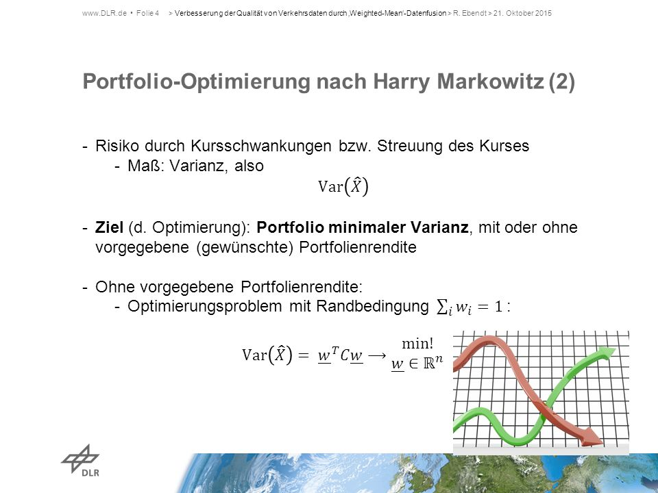 Portfolio-Optimierung nach Harry Markowitz (2)