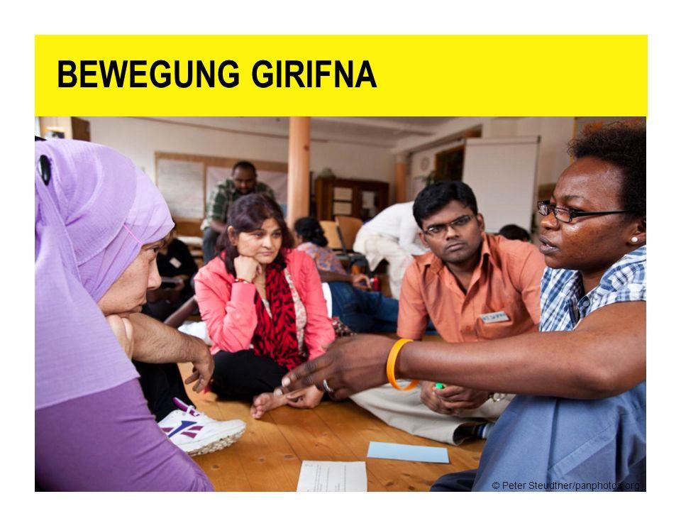 BEWEGUNG GIRIFNA Mitglieder der Studierendenbewegung Girifna in Sudan.