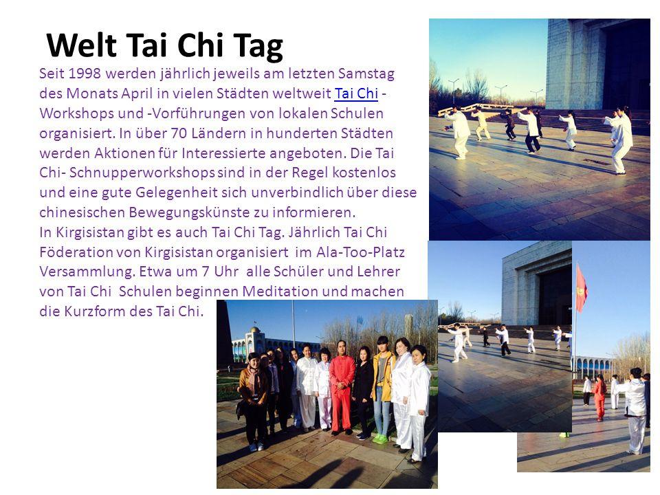 Welt Tai Chi Tag