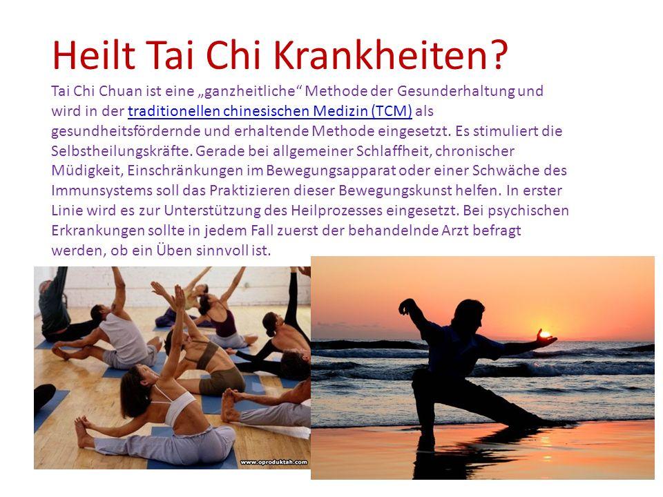 Heilt Tai Chi Krankheiten