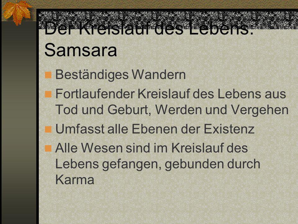 Der Kreislauf des Lebens: Samsara