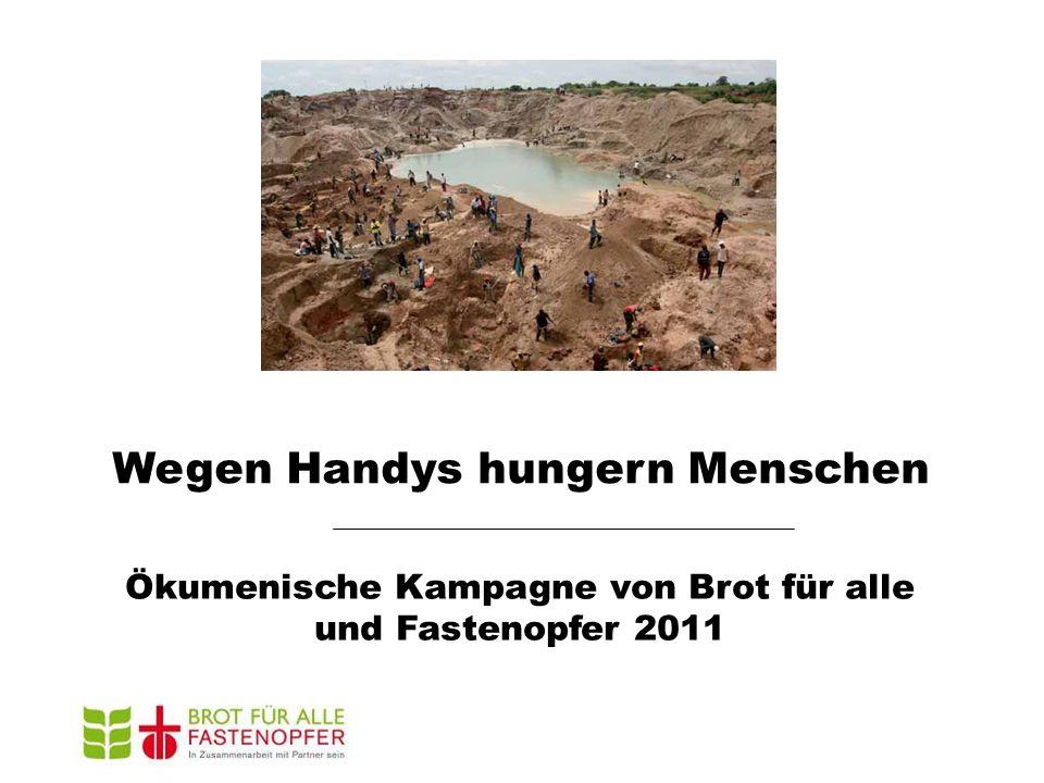 Wegen Handys hungern Menschen