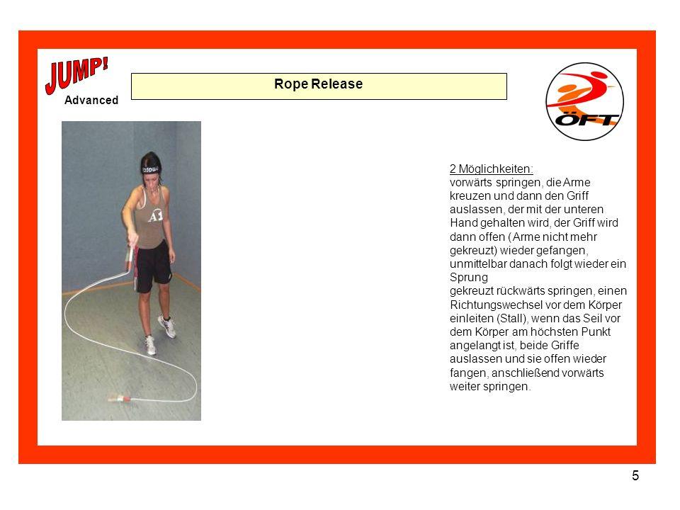 JUMP! Rope Release Advanced 2 Möglichkeiten:
